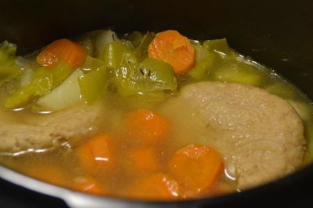 Hachés poulet aux légumes recette cookeo