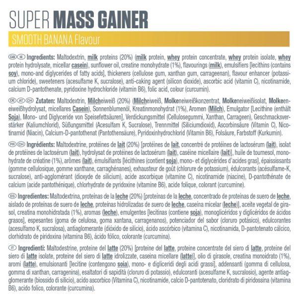 Super mass gainer bar