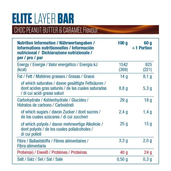 étiquette elite layer bar