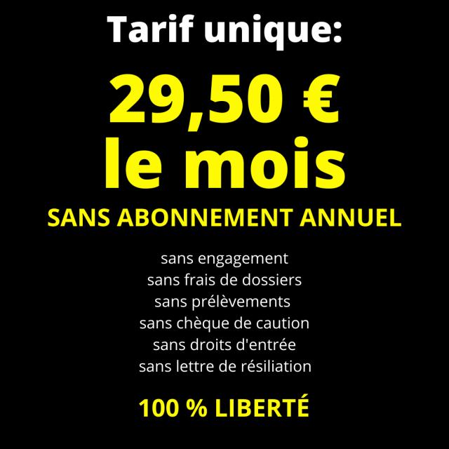 tarifs Sport LM 2021