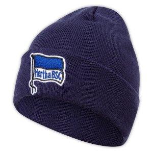 Hertha BSC Logo Beanie - Navy