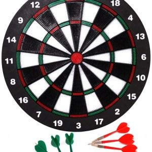 Longfield Games Kinder Safety Dartbord Incl. 6 Darts