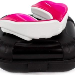 Makura gebitsbeschermer Ignis Pro junior siliconen wit/roze