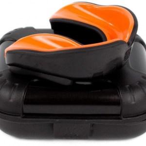 Makura gebitsbeschermer Ignis Pro senior siliconen zwart/oranje