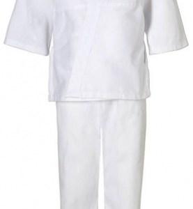 adidas judopak J181 junior wit maat 110 cm