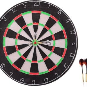 Johntoy Sports Active dartboard met 6 darts 45cm