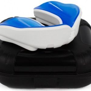 Makura gebitsbeschermer Ignis Pro senior siliconen wit/blauw