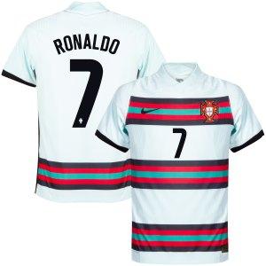 Portugal Vapor Match Shirt Uit 2020-2021 + Ronaldo 7 - XL