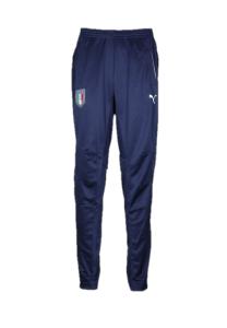 Italië Trainingsbroek Kids - Maat 128 - Kleur: Blauw   Soccerfanshop
