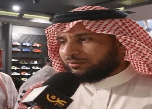 بالفيديو .. قائد الاتحاد السابق خميس الزهراني يفتتح ماركته الرياضية في جدة