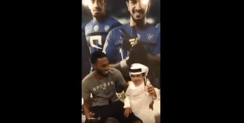 بالفيديو.. الطفل القطري ناصر البخيت يلتقي جحفلي
