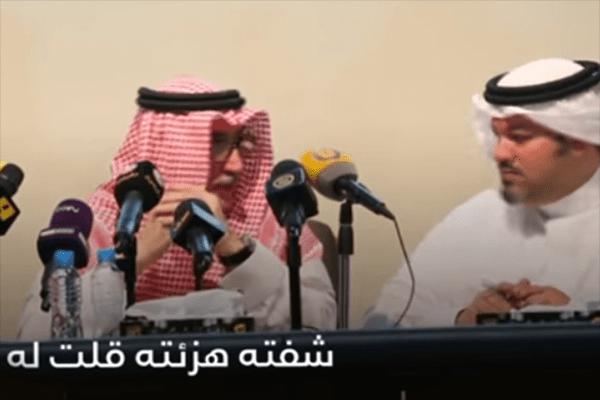 بالفيديو.. رئيس الاتحاد باعشن ونائبه يتهامسان ضد صحفي سعودي