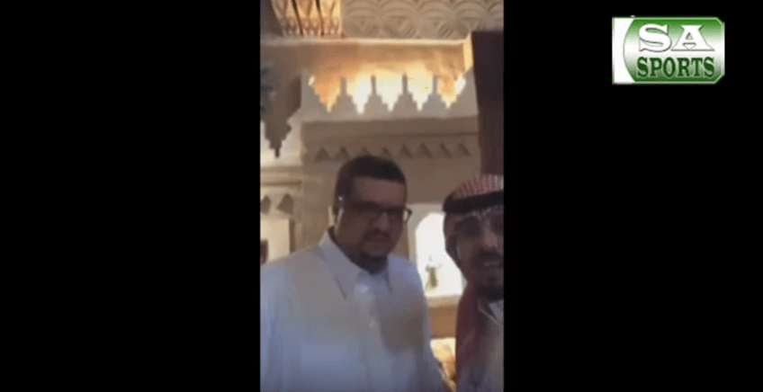 بالفيديو..الأمير فيصل بن تركي : بتكاتف الجميع سيعود النصر الموسم القادم