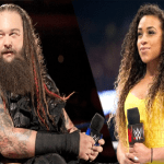 زوجة نجم WWE تطلب الطلاق بعد خيانتها مع مذيعة الحلبة