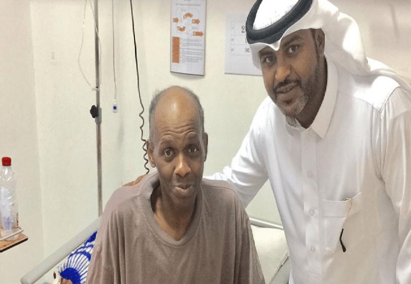 وزير الحرس الوطني يوجه لعلاج لاعب نادي النصر السابق مصطفى إدريس