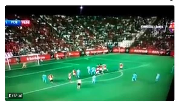 بالفيديو.. ألكاسير يحرز هدفاً خيالياً ضد خيمناستيكا