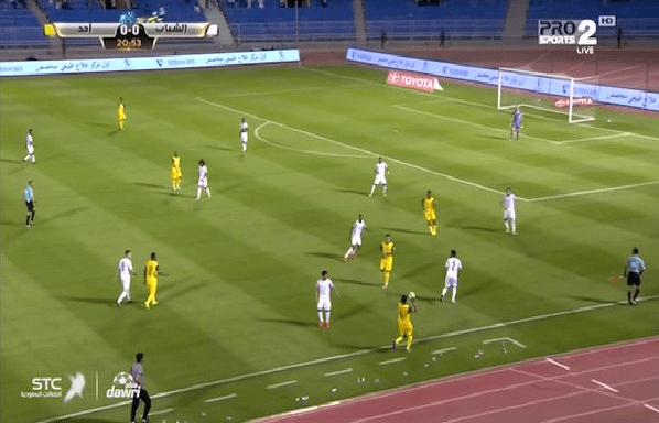 بالفيديو.. أحد يسجل هدفه الأول بقذيفة من اللاعب محمد الضو