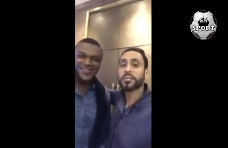 بالفيديو.. سامي الجابر مع أساطير العالم قبل حفل جوائز الفيفا