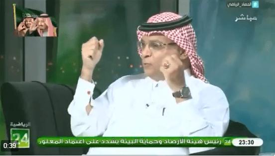 بالفيديو..سعود الصرامي:النصر بالنسبة لي اهم من العلاج و الدواء و الغذاء
