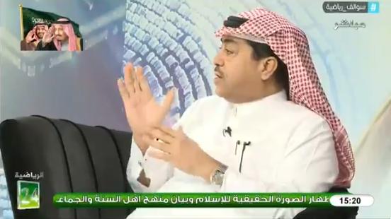 بالفيديو..فهد الطخيم : المدرب الذي قام بتدريب نادي معين ليس بالضرورة ان ينجح مع المنتخب