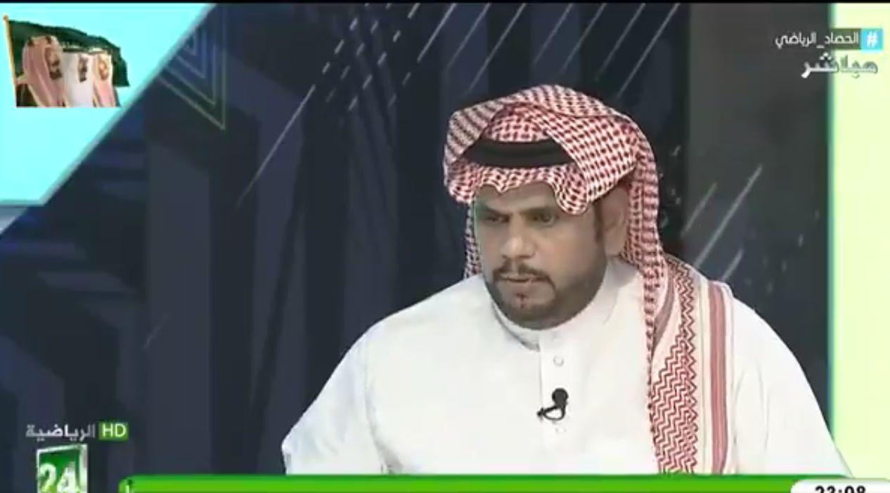 بالفيديو: عبدالكريم الحمد: هذا اللاعب هو روح النادي الأهلي!