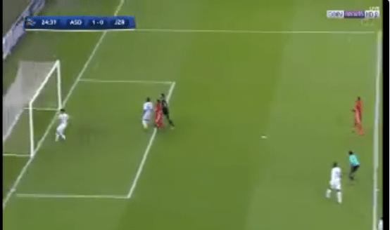 بالفيديو.. ميليغان يمنع فرصة هدف محقق للجزيرة الإماراتي