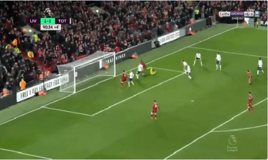 بالفيديو.. رغم تألق صلاح :توتنهام يتعادل مع ليفربول في الوقت القاتل بالدوري الإنجليزي!