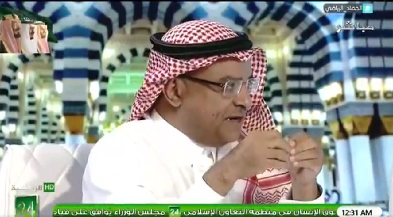 بالفيديو : سعود الصرامي : هذا هو أفضل لاعب في فريق الأهلي!