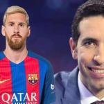 شاهد.. تعليق كوميدي من أبو تريكة على ميسي بعد فوز برشلونة على تشيلسي!