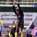 """هاشتاق كارينيو مدرب النصر يصل الترند ومغرد يعلق """"رجع الحب لحبيبه"""""""