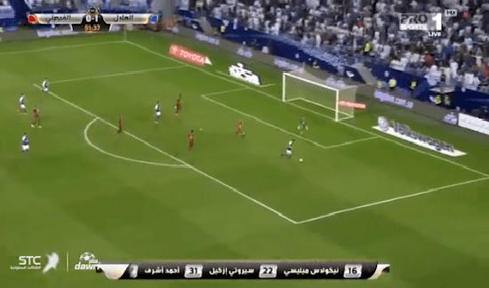 بالفيديو.. حارس الفيصلي يمنع سيروتي من تسجيل هدف محقق للهلال