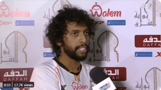 "In the video .. ""Abdul Majeed Al Salliham"" reveals the truth of his anger at the coach"