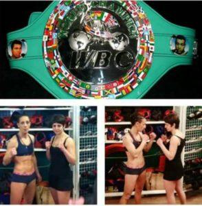 Myriam Dellal à la conquête de la ceinture WBC Silver