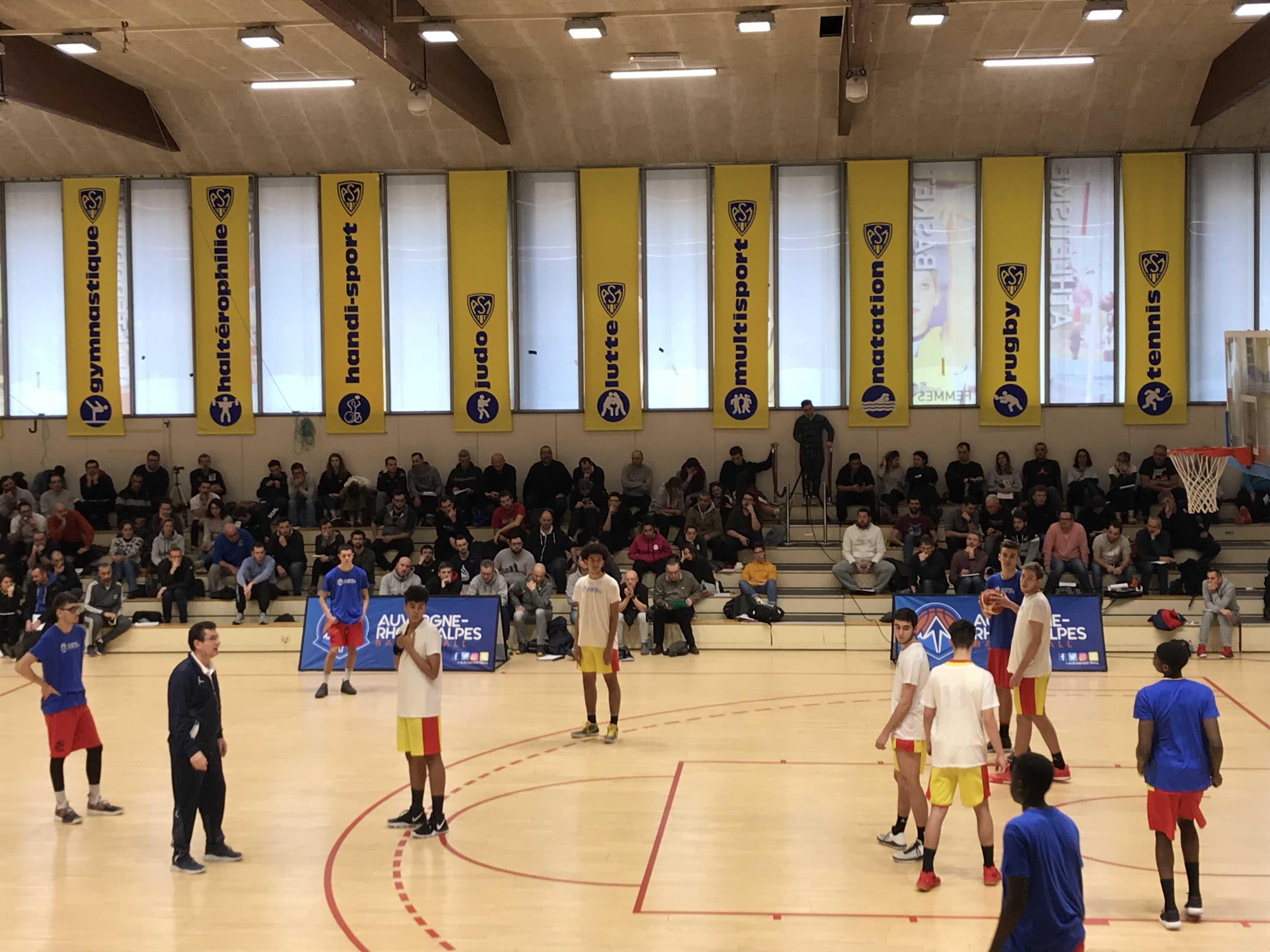Colloques des entraineurs de basketball 2019