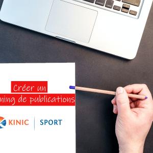 planning de publications