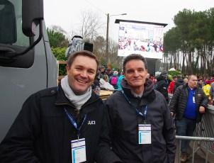 David Lappartient president UCI et Paul Molac