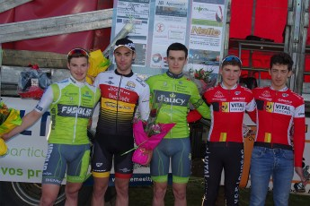 Podium des 2emes cat