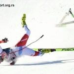 Težak pad na glavu švajcarskog skijaša Krijenbila u Kicbilu! (VIDEO)