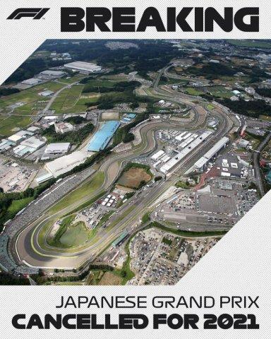 Otkazana trka za Veliku nagradu Japana u Formuli 1