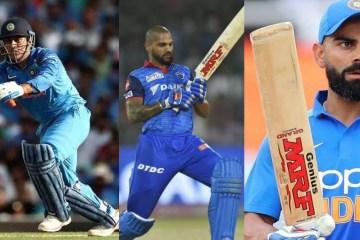 Top 5 bat sponsorships in Indian cricket