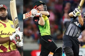 Top 10 highest powerplay scores in T20 internationals (T20Is)