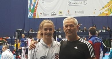 Ariana Oreč peta na EP u taekwondou za kadete u Budimpešti