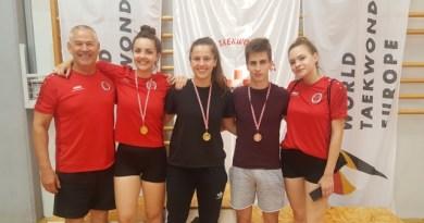 PH taekwondo: Zlatna Marta Župan, srebrni Lucian Jerak i brončana Gloria Bojo