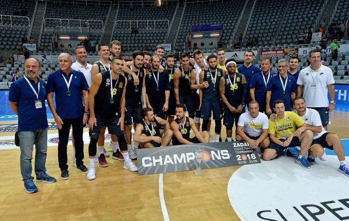 Košarkaši Fenerbahcea pobjednici 5. ZDBT-a