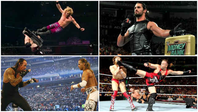 Image Result For Wwe Money In The Bank Ladder Matches Best