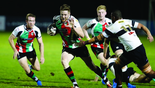 Brian Geraghty was one of three big stars to leave Quins 12 months ago.