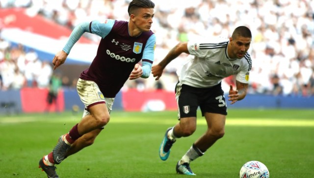Aston Villa's in-demand Jack Grealish