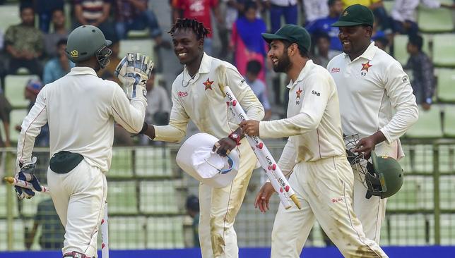 Zimbabwe registered a historic Test win in Sylhet.