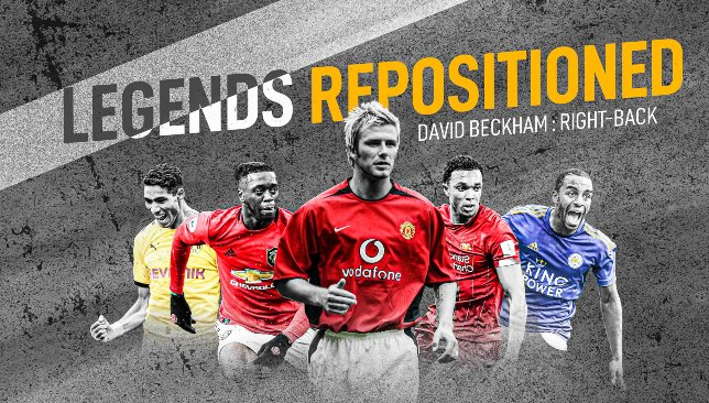 Legends repositioned: Man United icon David Beckham plays right-back in Liverpool's current system - Sport360 News