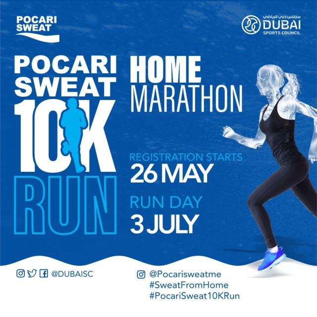 Dubai Sports Council and Pocari Sweat team up for PocariSweat 10K Run - Sport360 News